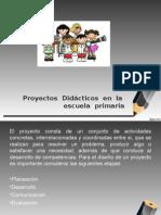 Proyectos Didácticos en La Escuela Primaria