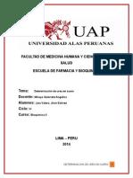 Determinacion de Urea en Suero( Marco Teorico-conclusiones)
