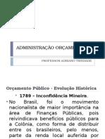 Administração Orçamentária Publica Aula 2