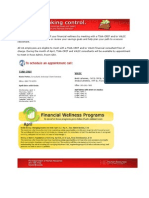 Monthly Financial Wellness Newsletter
