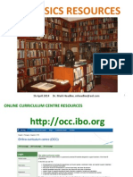 IB Physics Resources 2014