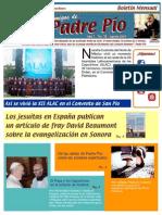 Amigos de Padre Pío Agosto 2015
