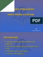 Epuration Extra-renale - Dr Fresenius