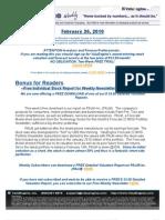ValuEngine Weekly Newsletter February 26 2010