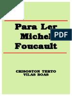 Villas Boas - Para Ler Foucault