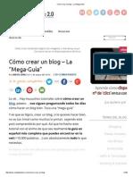 Guia Para Hacer Blog