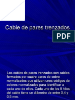 Cable de Pares Trenzados