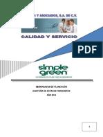 Ejemplo Memorandum de Planeación 2014