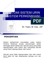 Anatomi & Fisiologi Sistem Urinaria (PPT)