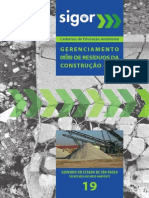 Gererenciamento de Resíduos Sólidos na Construção Civil