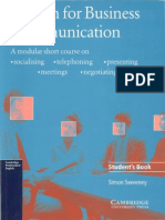 English for Business Communication Studxxent's Book
