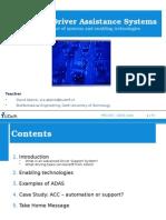 2011 04 ME1100 ADAS and Enabling Technologies