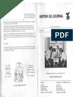 British Go Journal N°25