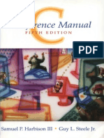 Harbison s p Steele g l c a Reference Manual 5th Ed