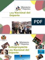 Fundamentos de La Ley Del Deporte