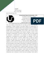 Resenha Extensão Ou Comunicação - Paulo Freire
