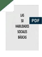 Las 50 Habilidades Basicas