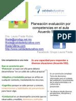 Planeación y Evaluación Dra. Laura Frade