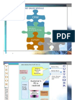 ERP Order fulfillment function - Presales, Sales Module, Sales & Distribution module