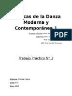 Técnicas de La Danza Moderna y Contemporánea 1