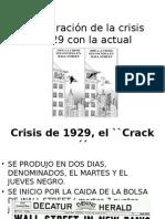 Comparacion crisis 1929 y 2008