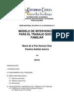 modelo de intervención para el trabajo social con familias