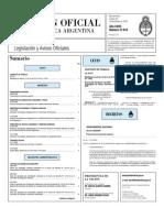 Boletin Oficial 29-12-09