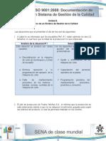 Solucion Actividad de Aprendizaje Unidad 4 Registro y Documentacion de Un Sistema de Calidad