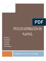 Grupo 1 Tipos de Distribucion Plantas