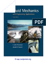 Fluid Mechanics With Engineering Applications by Franzini 10th. Edition