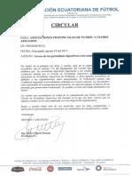 CIRCULAR F.E.F.