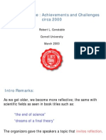 [Cs Achievements and Challenges Circa-2000]Bgu