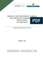 Manual de Cargos y FuncionesBUENO