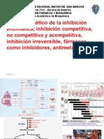 Análisis Cinético de La Inhibición Enzimática