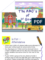ABCs of 1st Grade