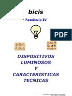 Dispositivos Luminosos y Caracteristicas Tecnicas (Fasciculo 4)