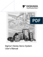 Yaskawa Sigma-II Servo User Manual