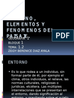 Entorno, Elementos y Fenomenos Del Paisaje..