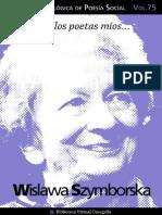 Cuaderno de Poesia Critica n 75 Wislawa Szymborska