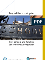 Beyond the school gate