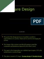 Software Enggineering Design :