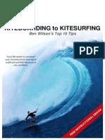 Kiteboarding to Kitesurfing eBook 10 0