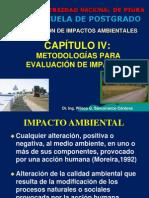 CAP. IV Metodologías Para Evaluación de Impactos
