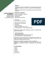 CV Lucero Martinez