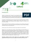 Caffeine Factsheet
