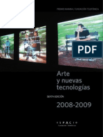 Catalogo Fundacion Telefonica Premio Arte y Tecnologia