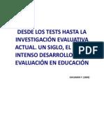 DESDE LOS TESTS HASTA LA INVESTIGACIÓN EVALUATIVA ACTUAL.pdf