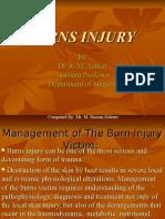 Burns Injury
