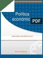 00 Politica Económica MANUAL