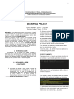 Informe Proyecto de Encriptación.